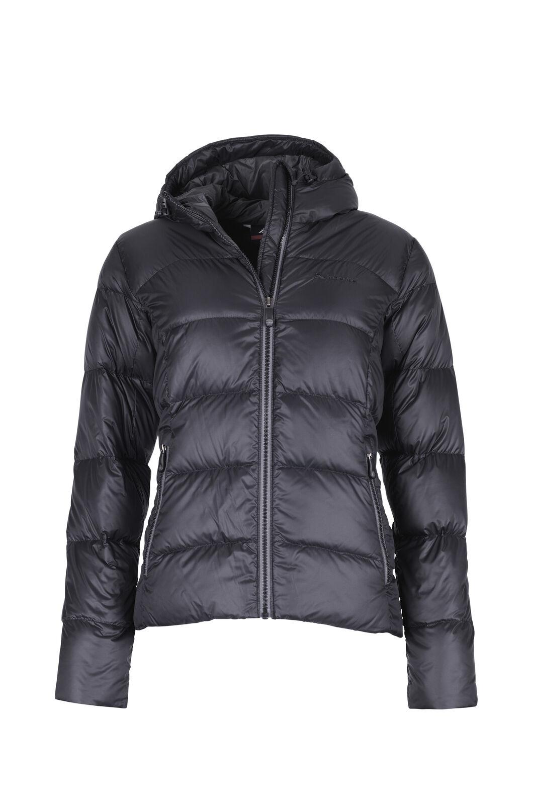 Macpac Sundowner Hooded HyperDRY™ Down Jacket - Women's, Black, hi-res