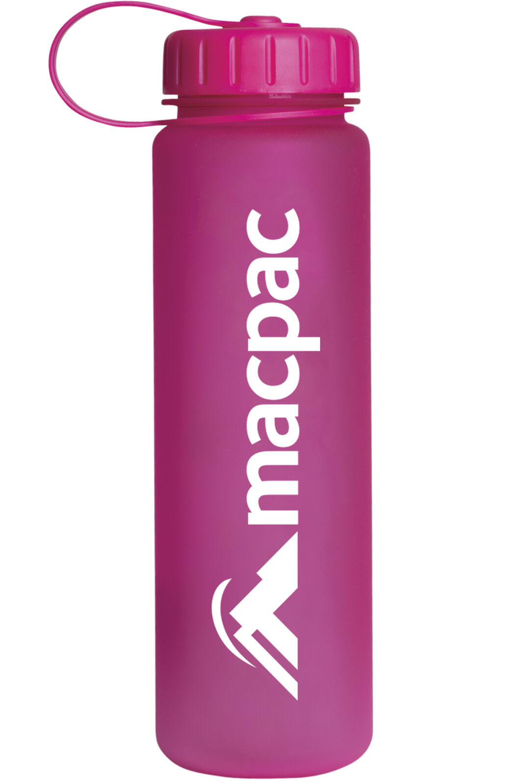 Macpac Soft Touch Water Bottle — 600 ml, Pink, hi-res