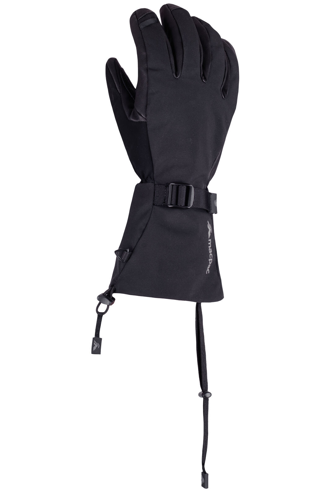 Macpac Powder eVent® Glove, Black, hi-res