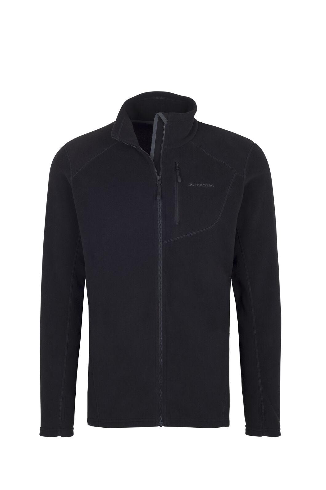 Macpac Kea Polartec® Micro Fleece® Jacket — Men's, Black, hi-res