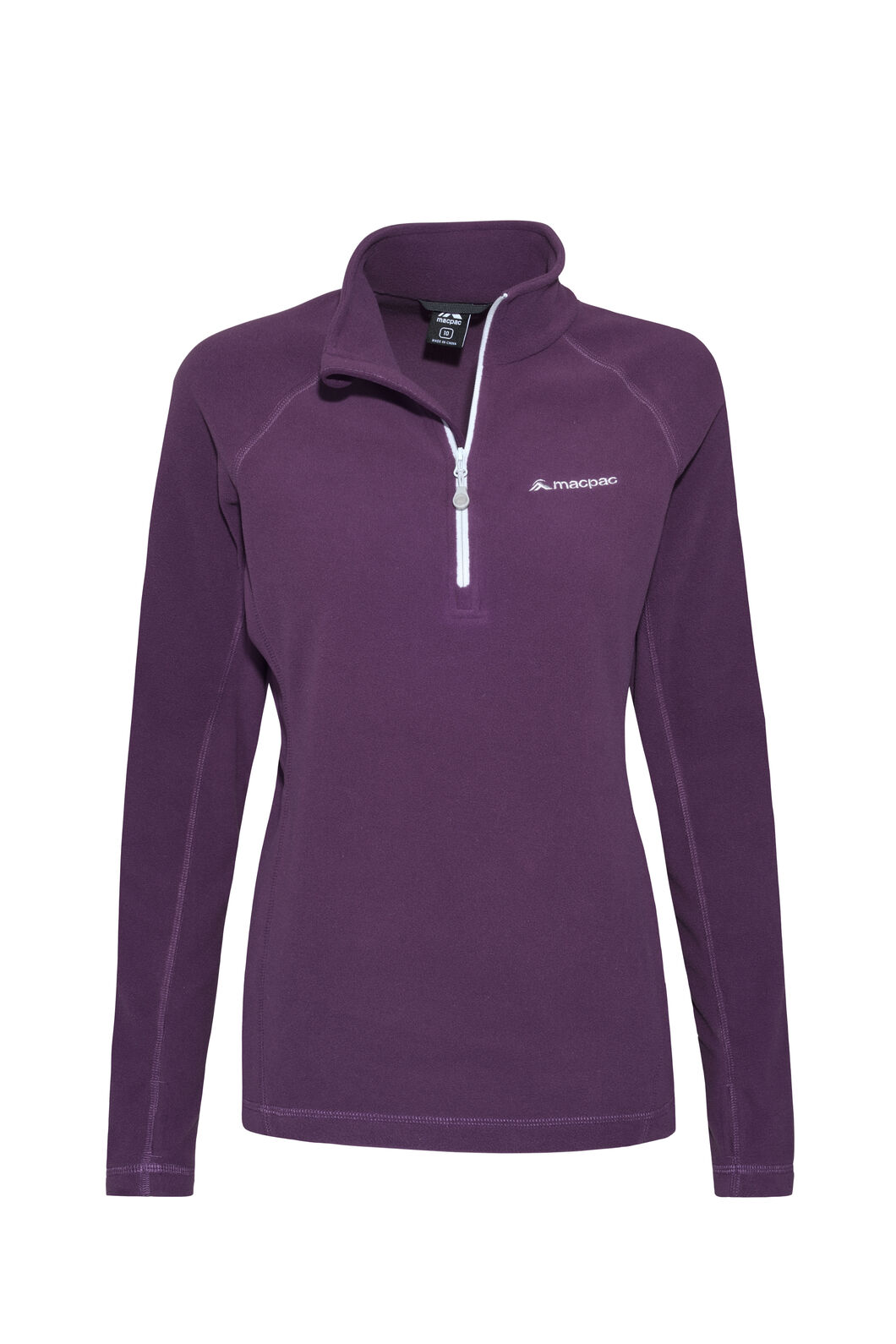 Macpac Tui Polartec® Micro Fleece® Pullover — Women's, Blackberry Wine, hi-res