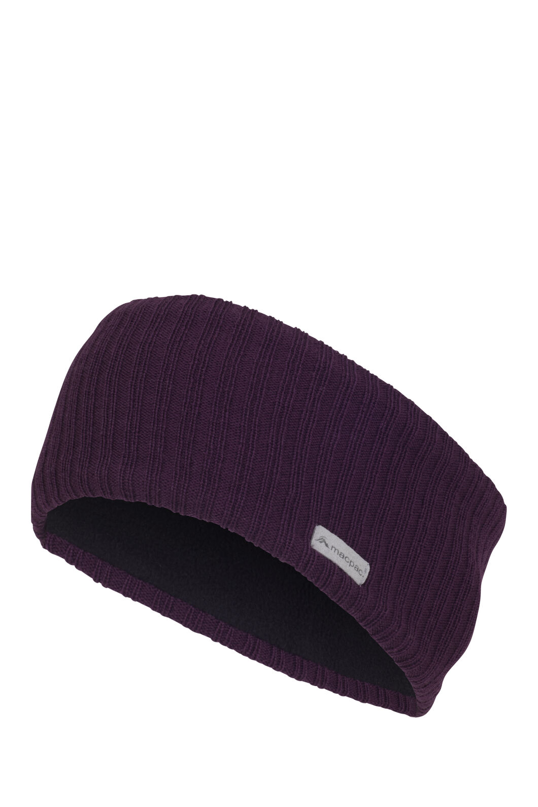 Macpac Merino Headband, Potent Purple, hi-res