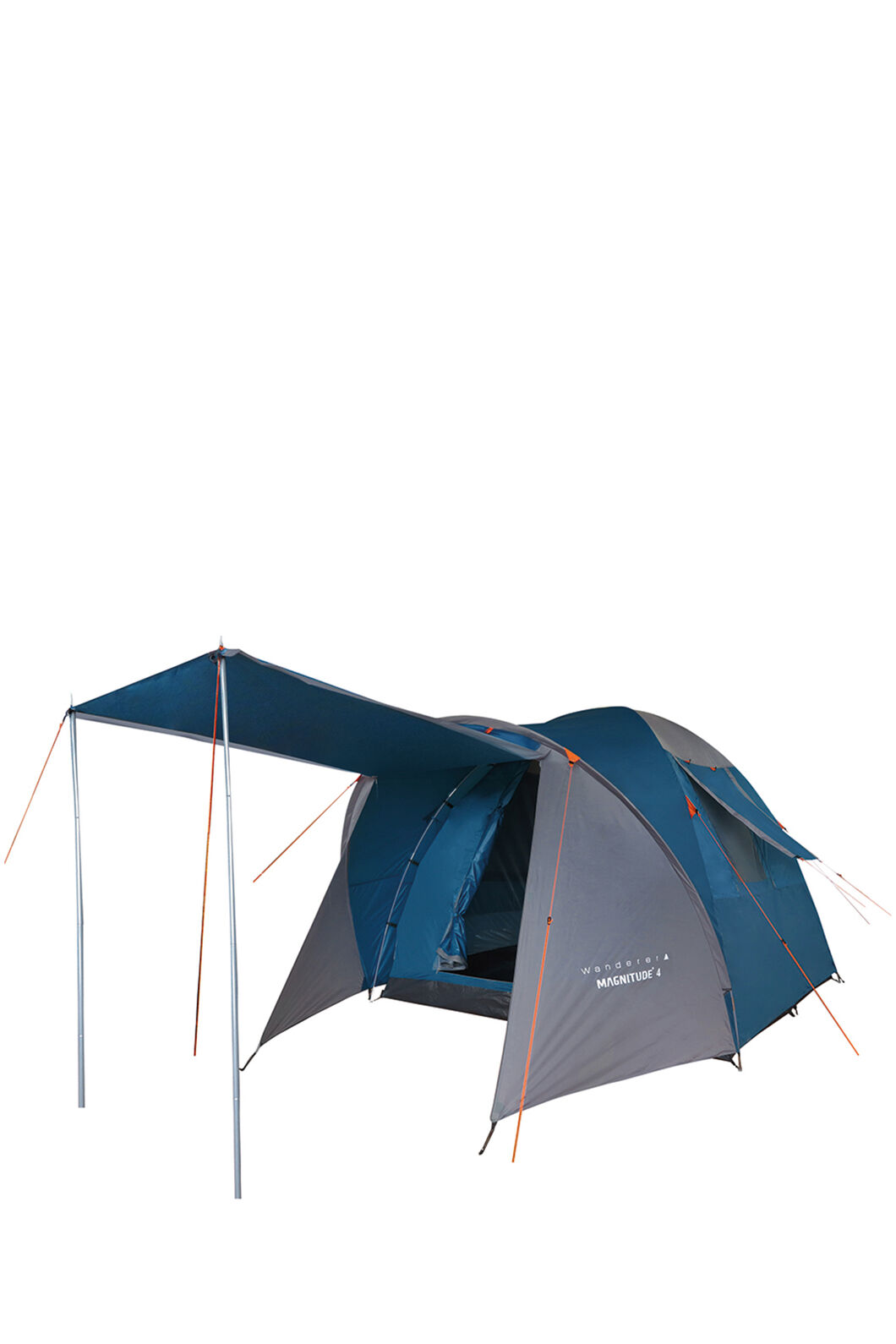 Wanderer Magnitude 4P Dome Camping Tent — Four Person, Blue, hi-res