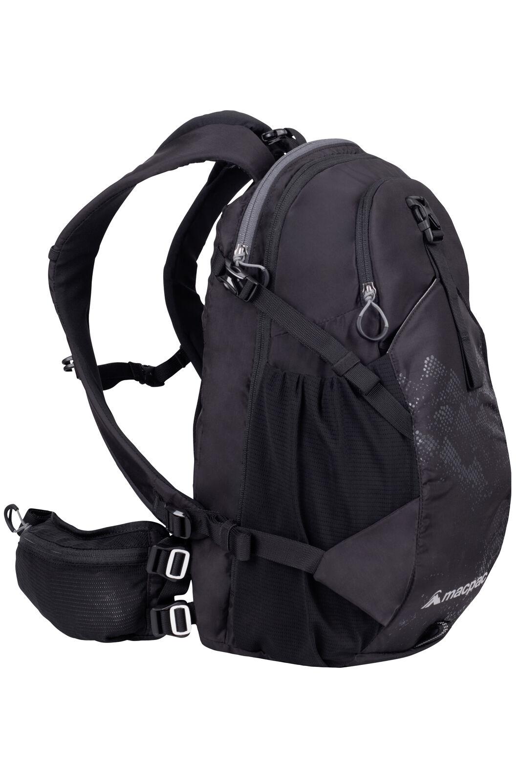 Macpac Mountain Bike 18L Pack, Black, hi-res