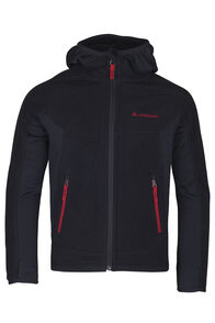 Mountain Hooded Pontetorto® Fleece Jacket - Kids', Black/Barbados, hi-res