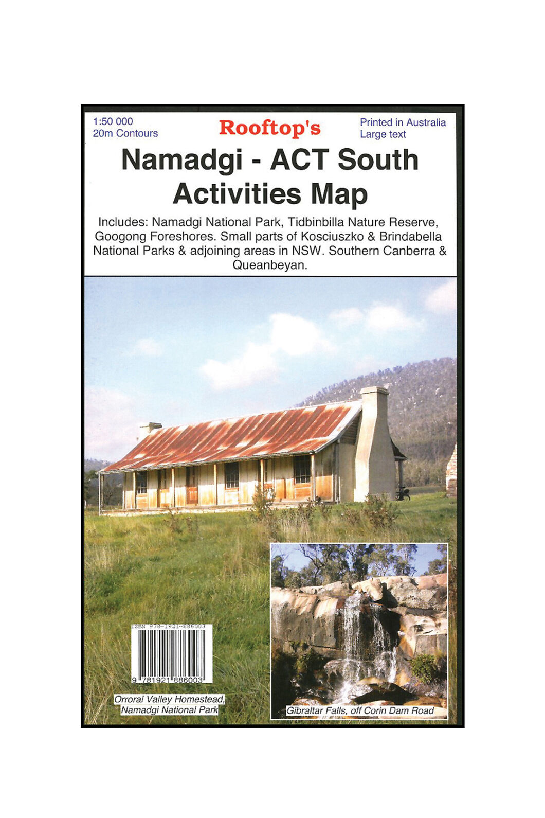 Hema Namadgi ACT South Map, None, hi-res