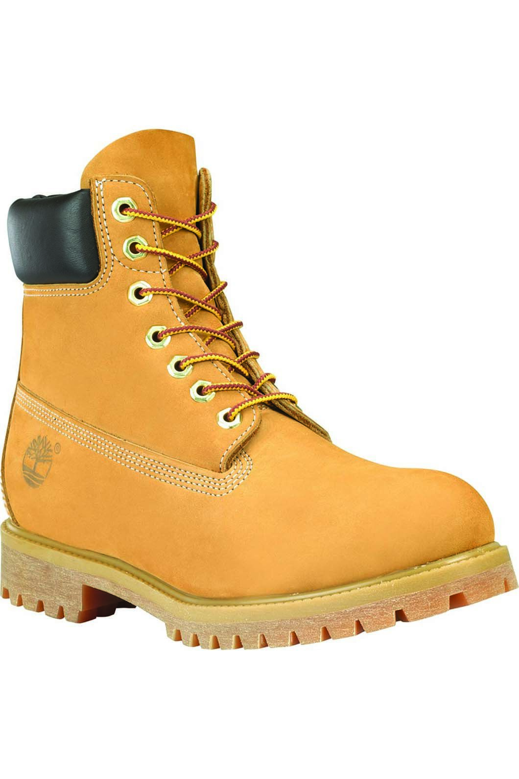 Timberland Men's Premium 6 Inch Boots Wheat Nubuck, WHEAT NUBUCK, hi-res