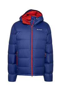 Macpac NZAT Arrowsmith HyperDRY™ Hooded Down Jacket — Men's, Blueprint, hi-res