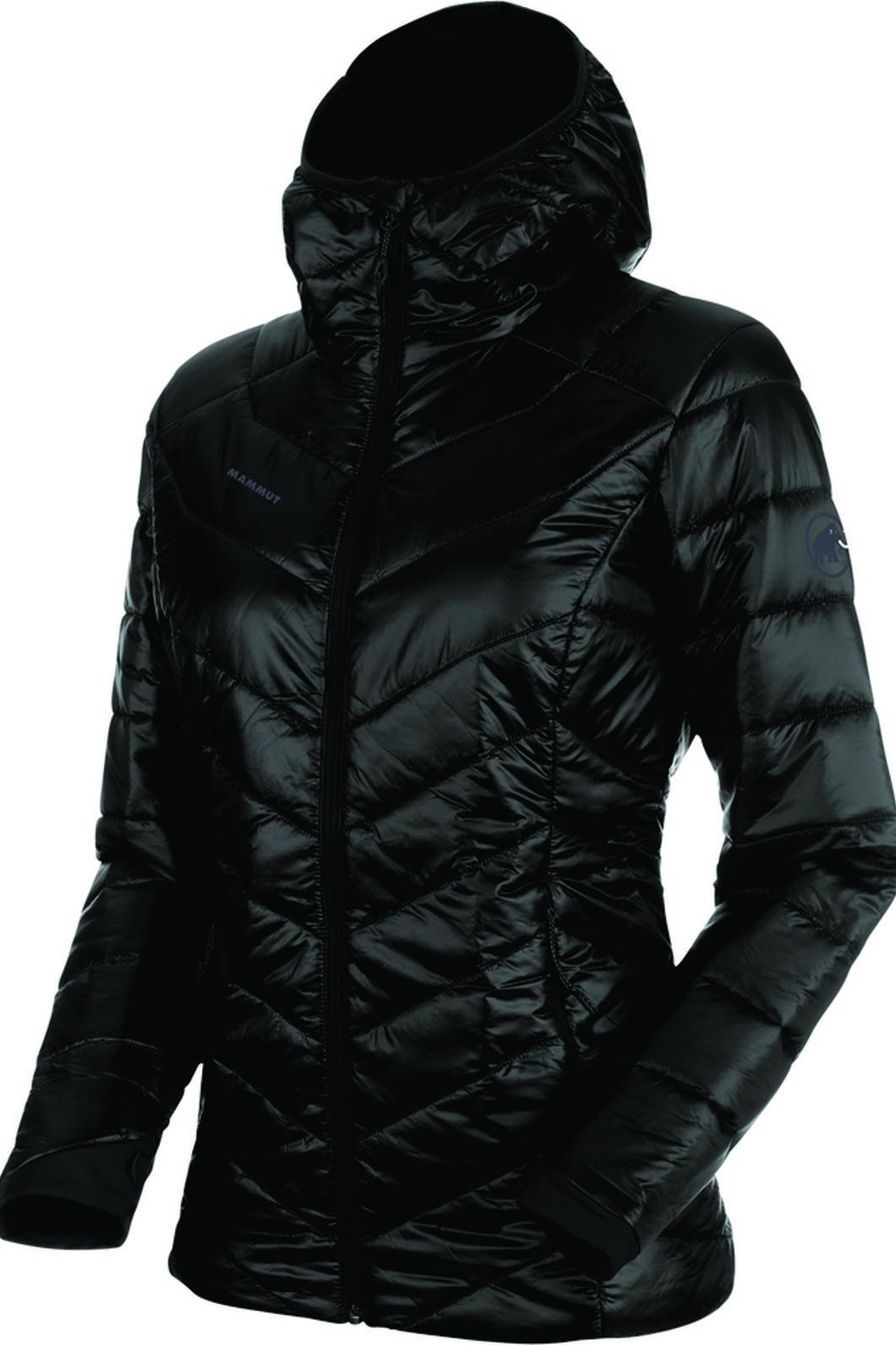 Mammut Rime Hooded Insulation Jacket - Women's, Black, hi-res