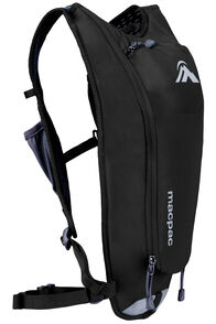 Macpac Amp H²O 2L Hydration Pack, Black, hi-res