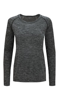Macpac Women's Limitless Long Sleeve Tee, Total Eclipse, hi-res