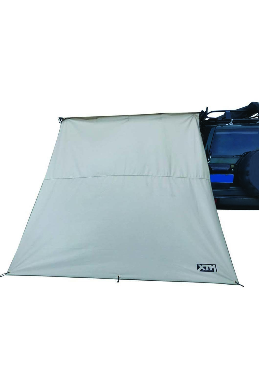 4X4 Car Awning Side Wall 2m, None, hi-res
