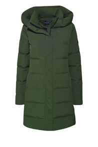 Macpac Narvi Down Coat — Women's, Kombu Green, hi-res