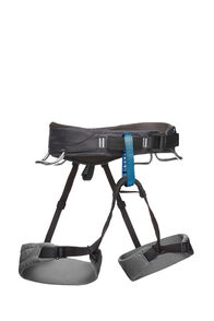 Black Diamond Momentum Harness — Men's, Slate, hi-res