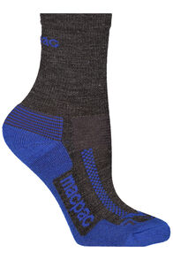 Trekking Socks Kids', Dark Grey Melange/Mazarine, hi-res