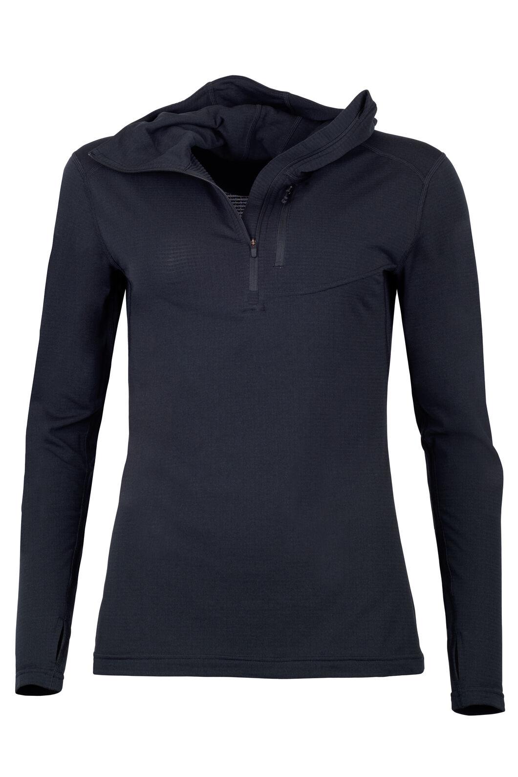 ProThermal Hooded Top - Women's, Black, hi-res