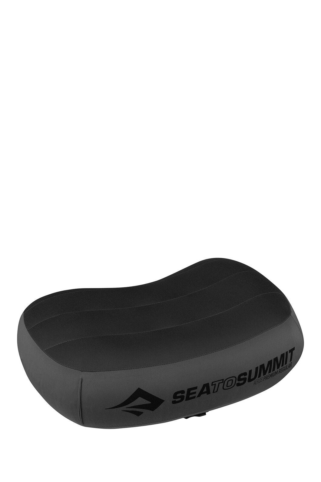 Sea to Summit Aeros Premium Pillow — Regular, Grey, hi-res