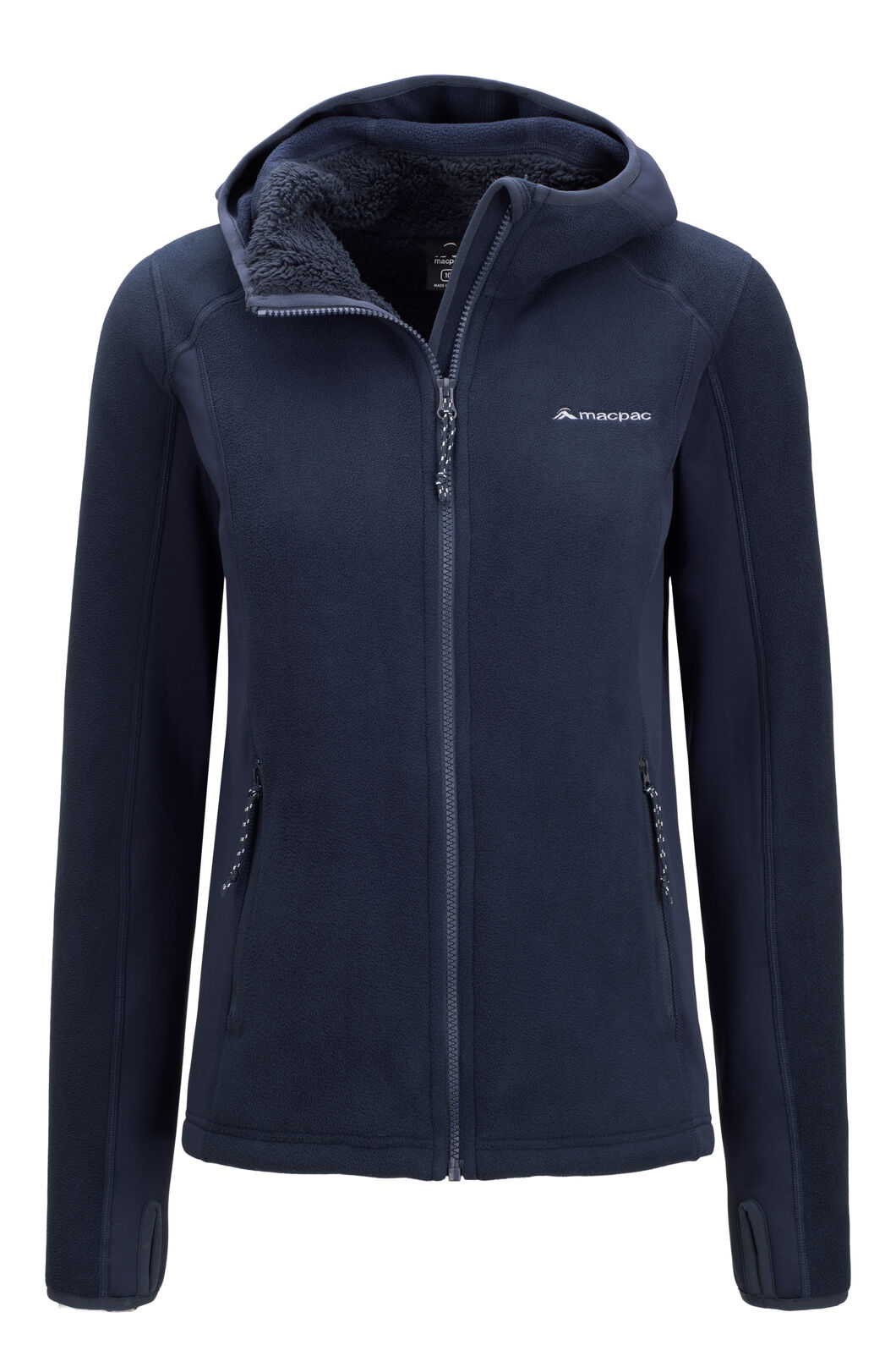 Macpac Women's Mountain Hooded Jacket, Total Eclipse, hi-res