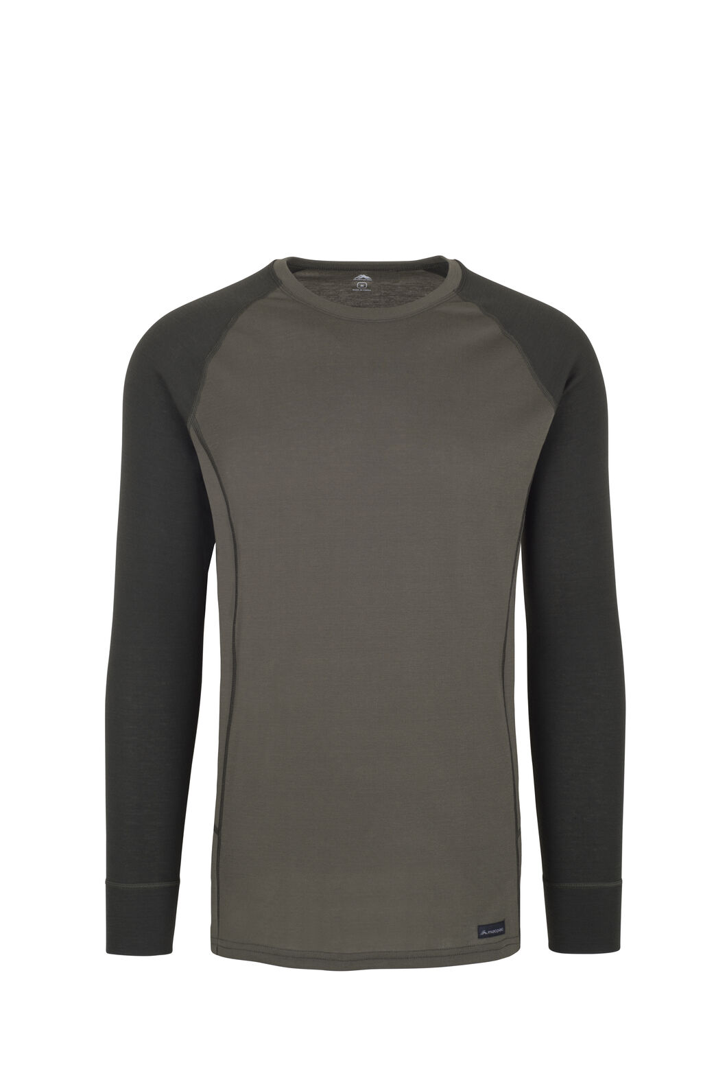 Macpac Geothermal Long Sleeve Top - Men's, Grape Leaf/Peat, hi-res