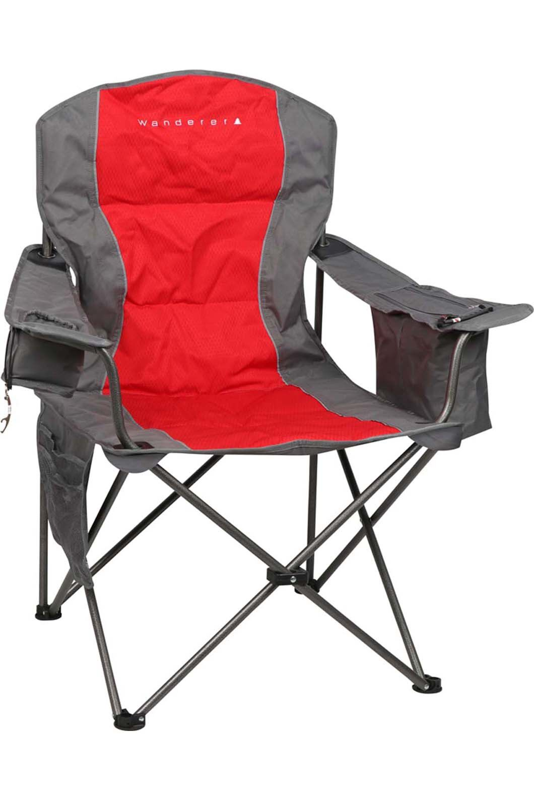 Wanderer Premium Cooler Arm Chair, Red, hi-res