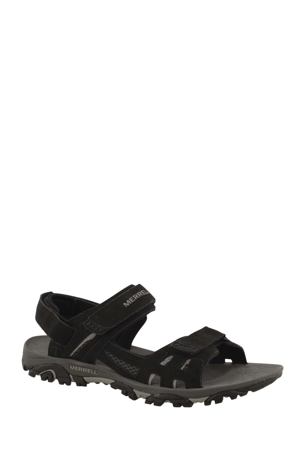 Merrell Men's Moab Drift Strap Sandals, Black, hi-res