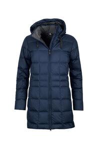 Macpac Aurora Down Coat — Women's, Black Iris, hi-res