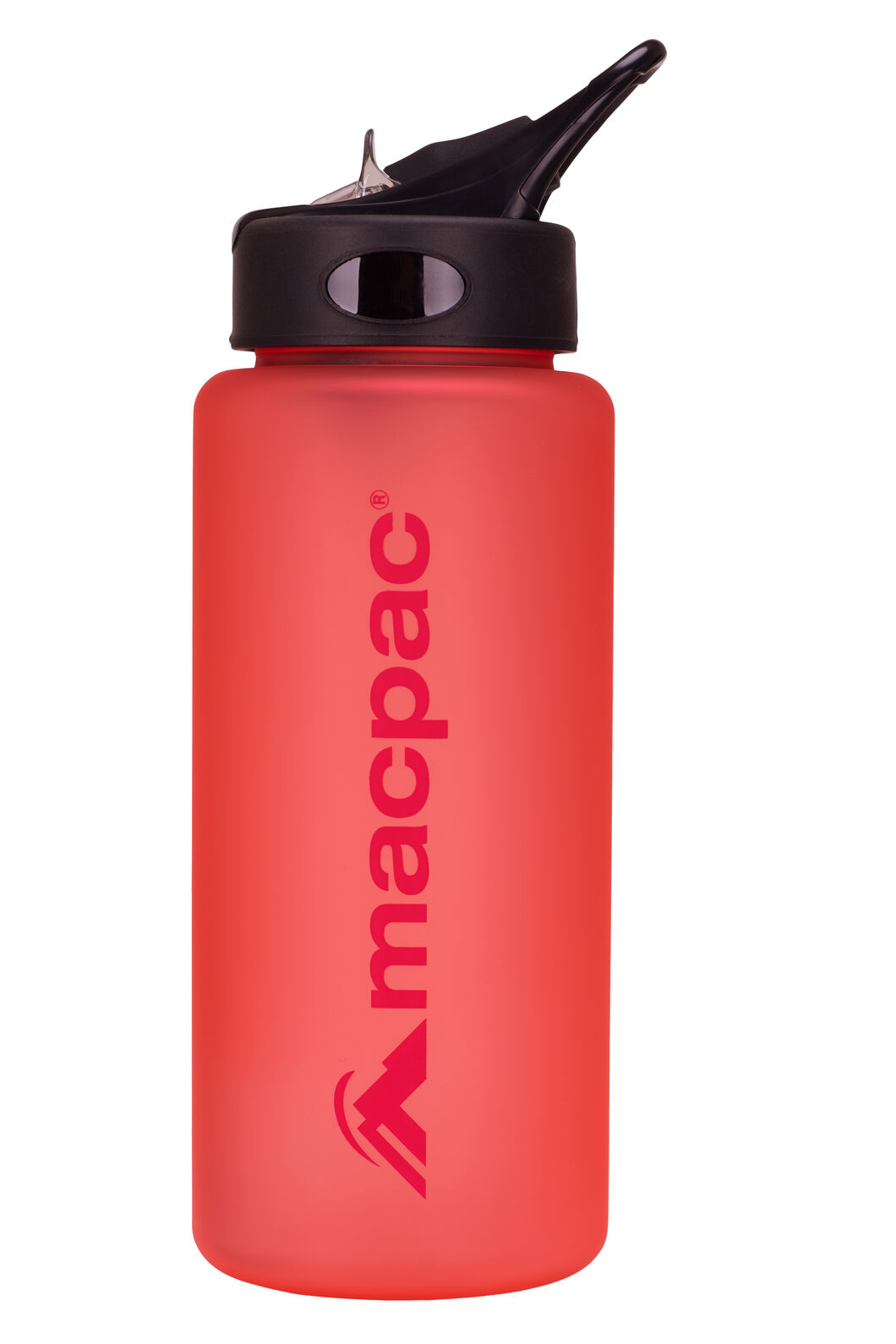 Macpac Flip Top Water Bottle — 850ml, Crimson, hi-res