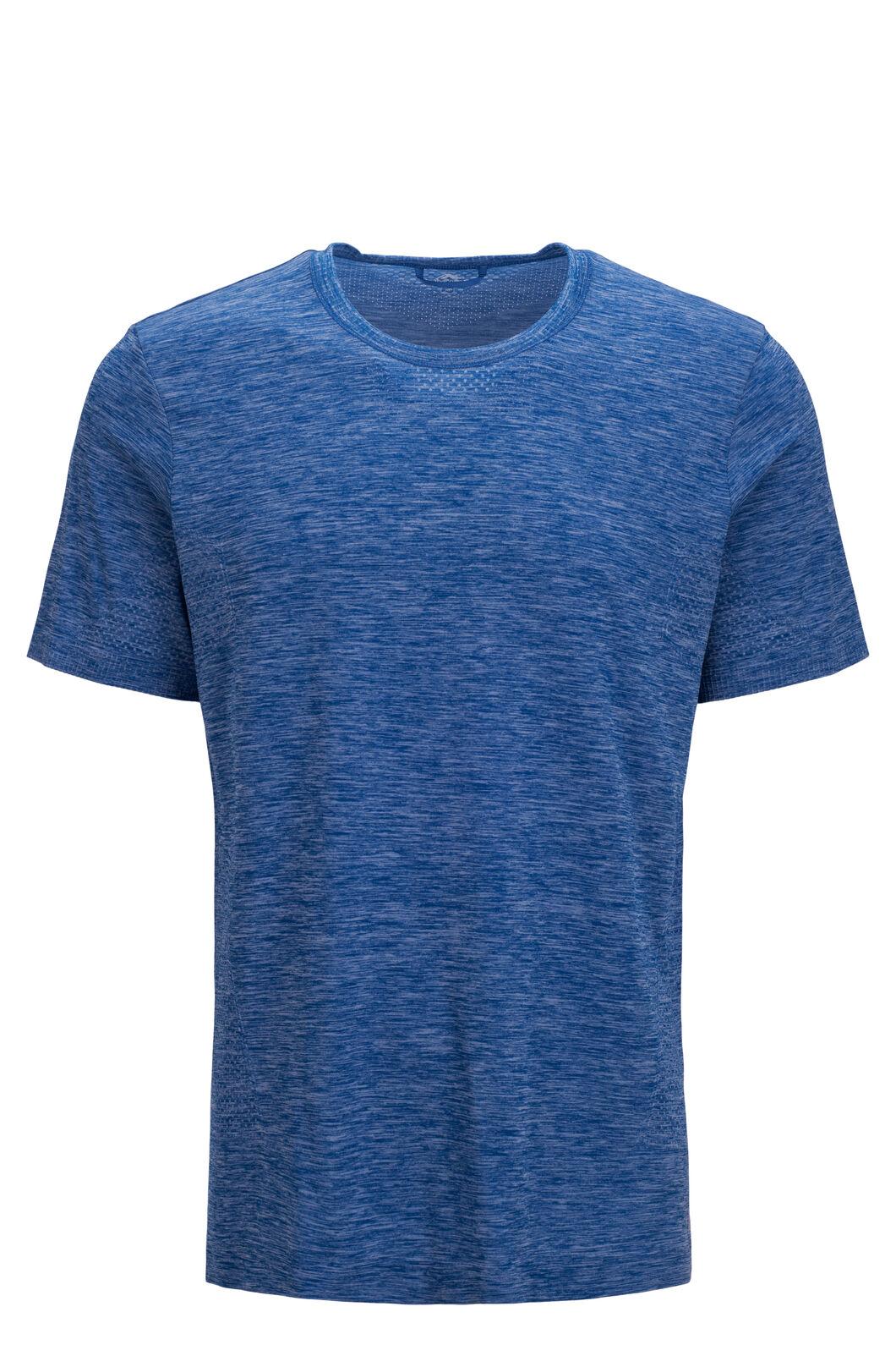 Macpac Limitless Short Sleeve Tee — Men's, Classic Blue, hi-res