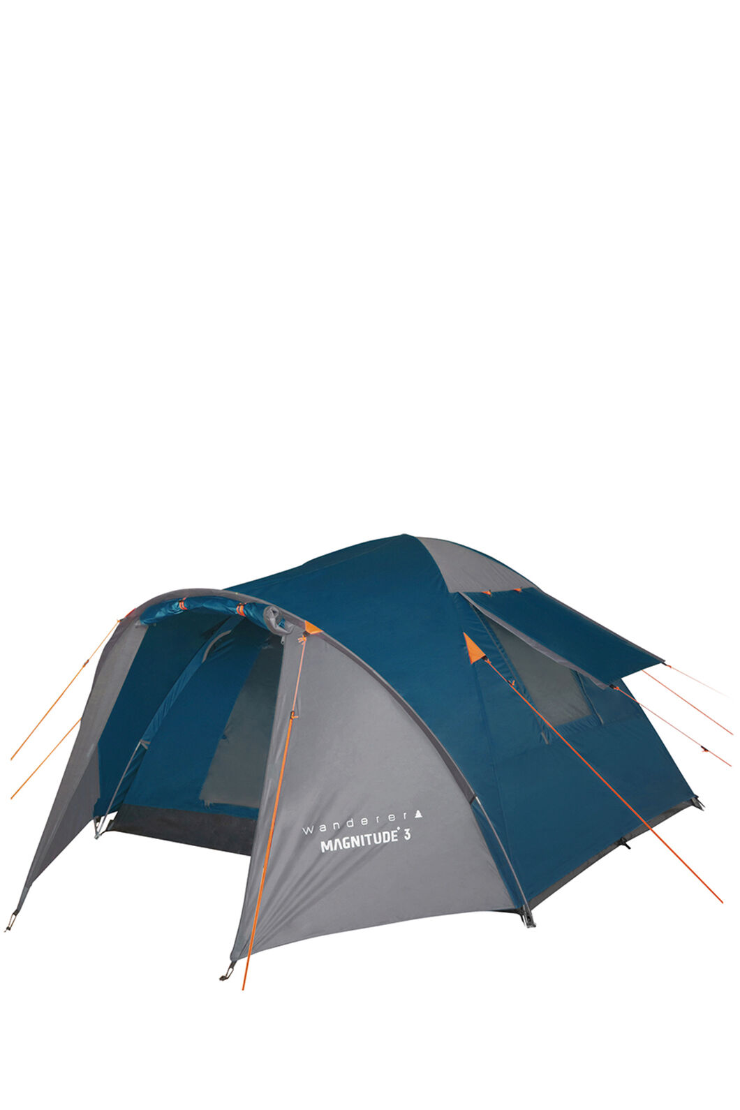 Wanderer Magnitude 3P Dome Camping Tent — Three Person, Blue, hi-res