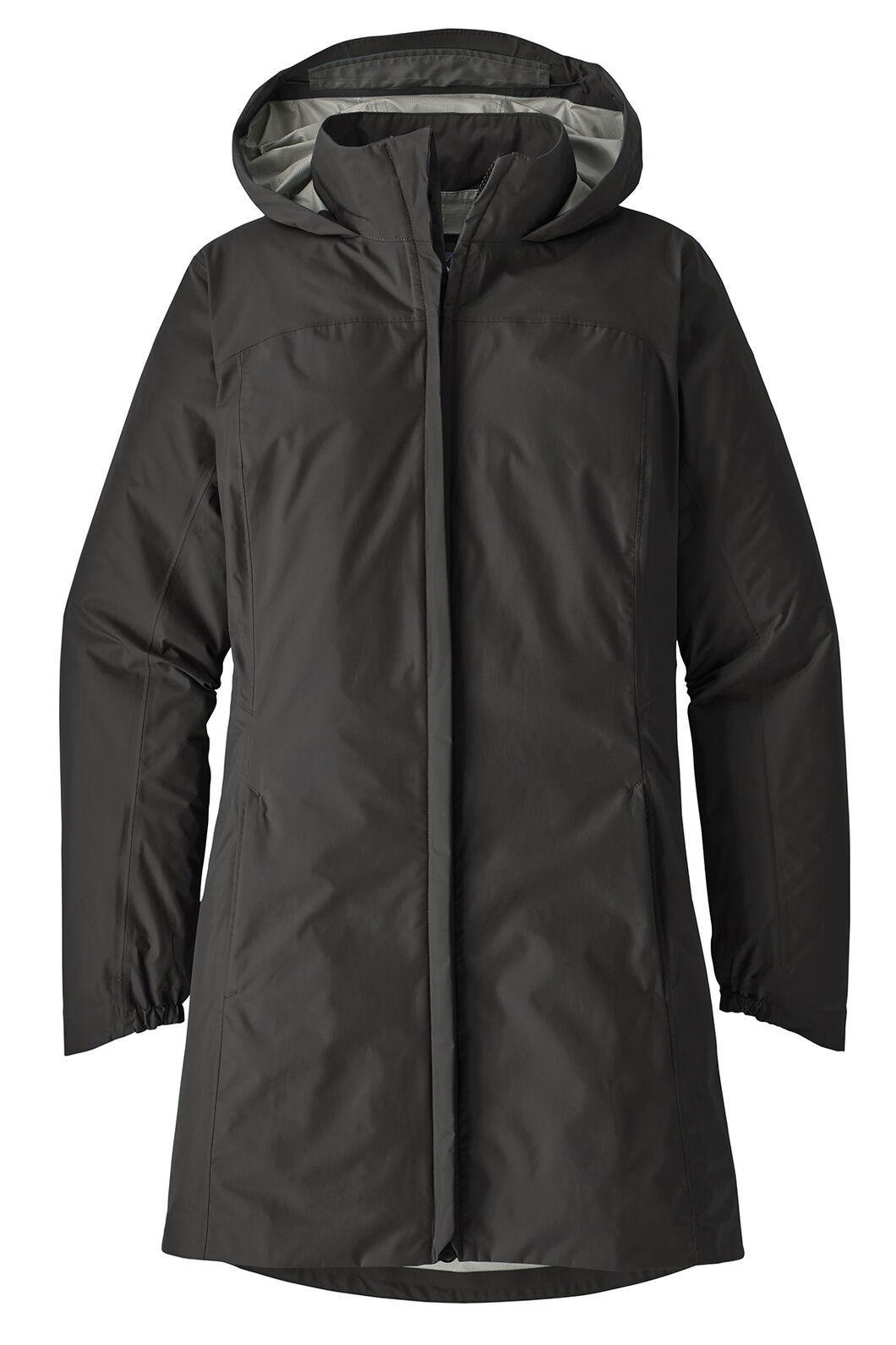 Patagonia W's Torrentshell City Coat Jacket, Black, hi-res