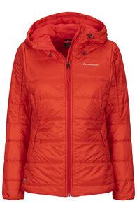 Macpac Pulsar PrimaLoft® Hooded Jacket — Women's (V3), Fiesta, hi-res