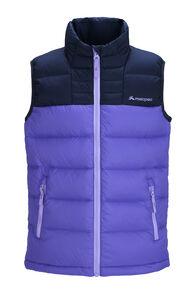 Macpac Kids' Atom Down Vest, Aster Purple, hi-res