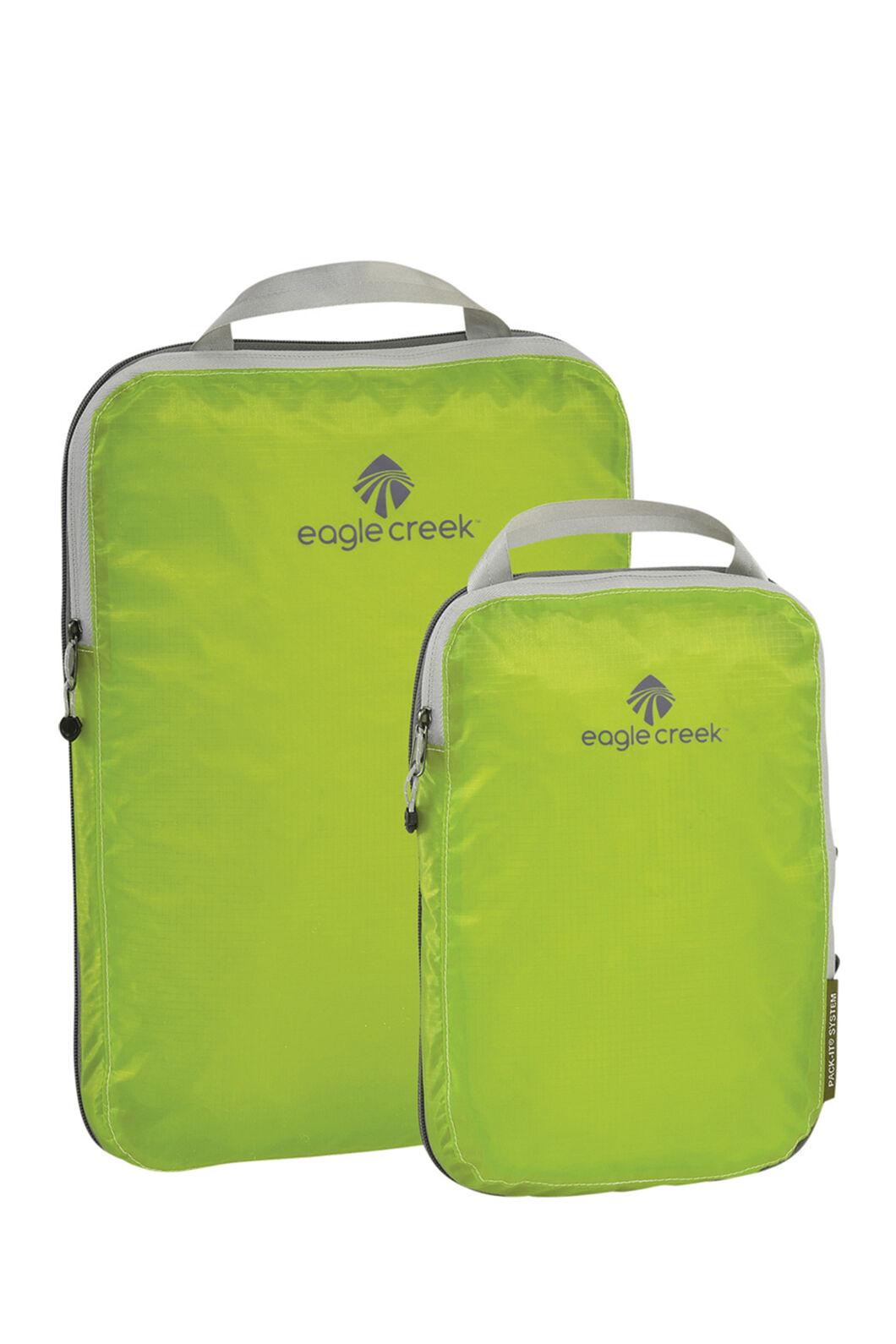 Eagle Creek Pack-It Specter Compression Cube Set, STROBE GREEN, hi-res