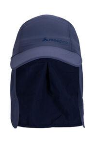 Macpac Kids' Mini Legionnaire Hat, Midnight Navy, hi-res