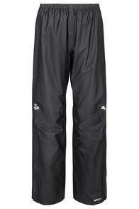 Macpac Nazomi Pertex® Rain Pants — Women's, Black, hi-res