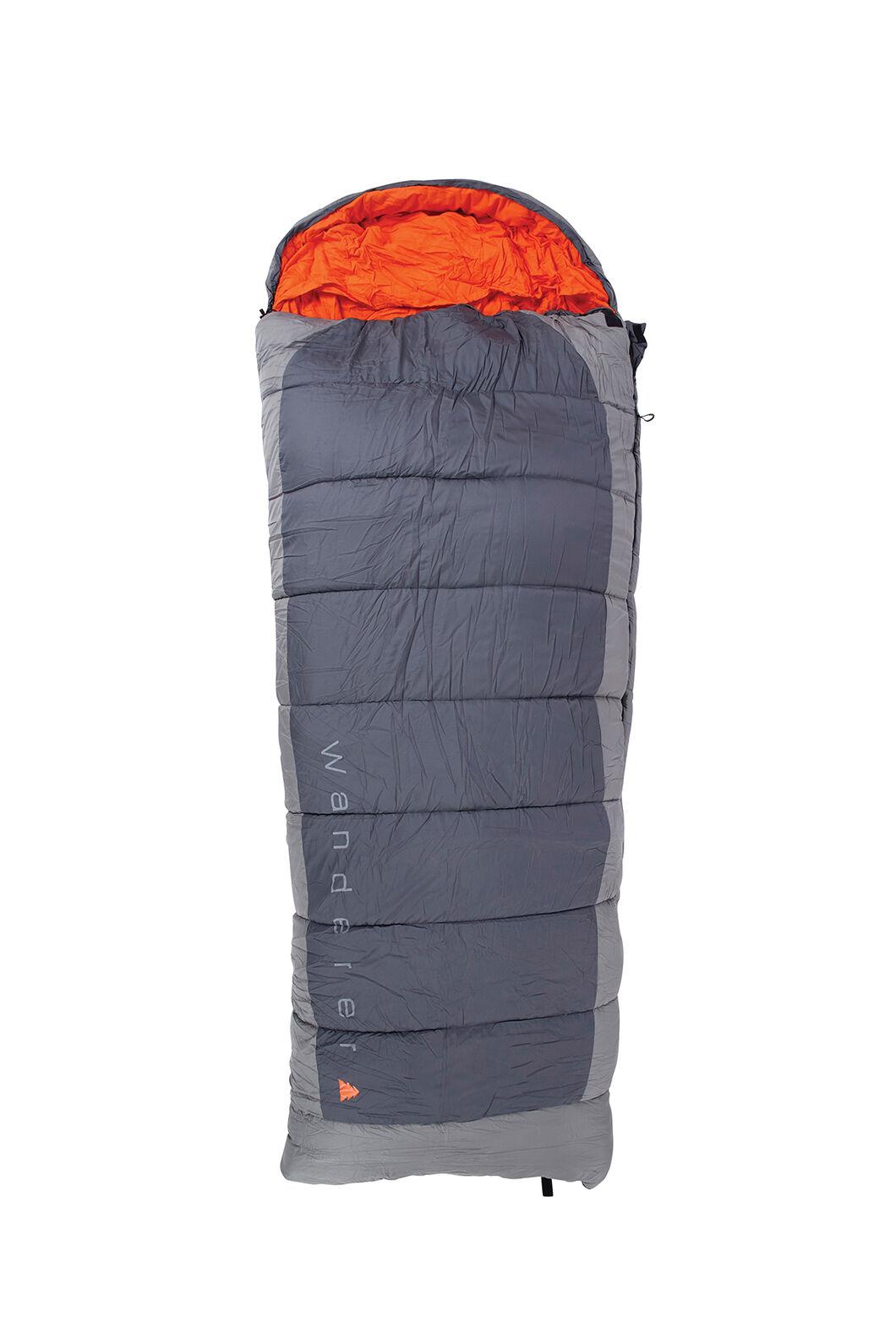 Wanderer Full Flame Hooded Sleeping Bag, None, hi-res