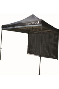 Wanderer Gazebo Ultimate Heavy Duty 3x3m Mesh Wall Kit, None, hi-res