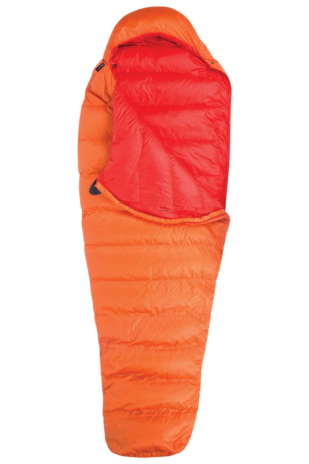 Macpac Epic HyperDRY™ Down 400 Sleeping Bag - Extra Large, Exuberance/ Indicator, hi-res