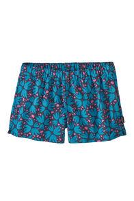 Patagonia Barely Baggies™ Shorts — Women's, Pollen Confetti/Dolomite Blue, hi-res