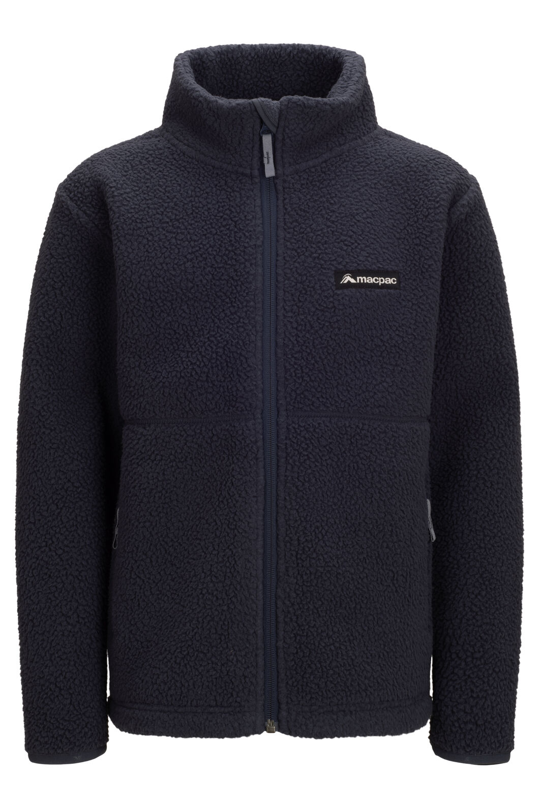 Macpac North Col Fleece — Kids', BLUE NIGHTS, hi-res