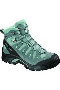 Salomon Women's Quest Prime GTX Hiking Boots Stormy, LEAD/STORMY/WEATHER/EGG BLUE, hi-res