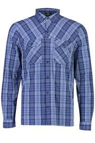 Macpac Eclipse Long Sleeve Shirt - Men's, Medieval Blue, hi-res