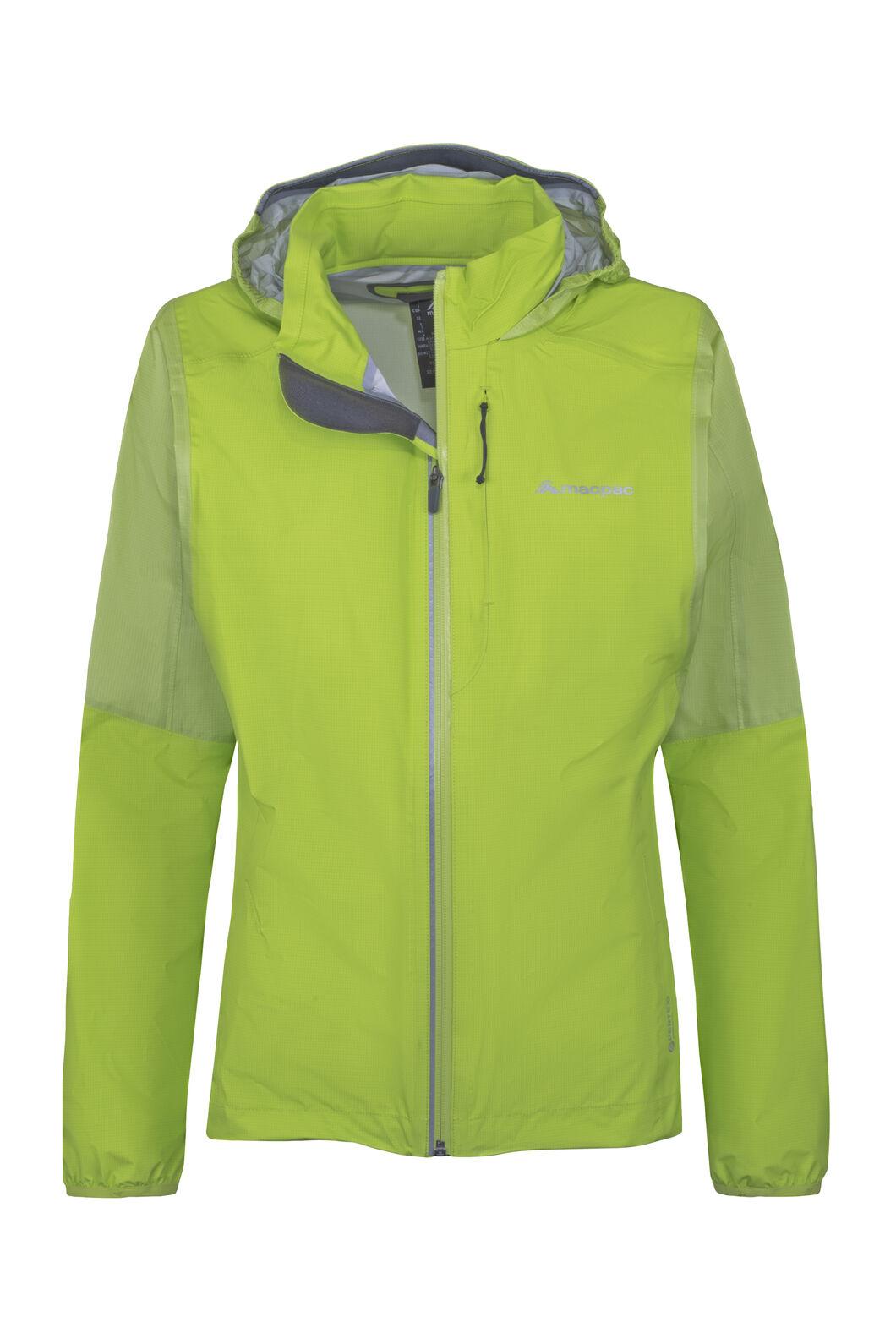 Macpac Transition Pertex® Shield Rain Jacket — Women's, Macaw Green, hi-res