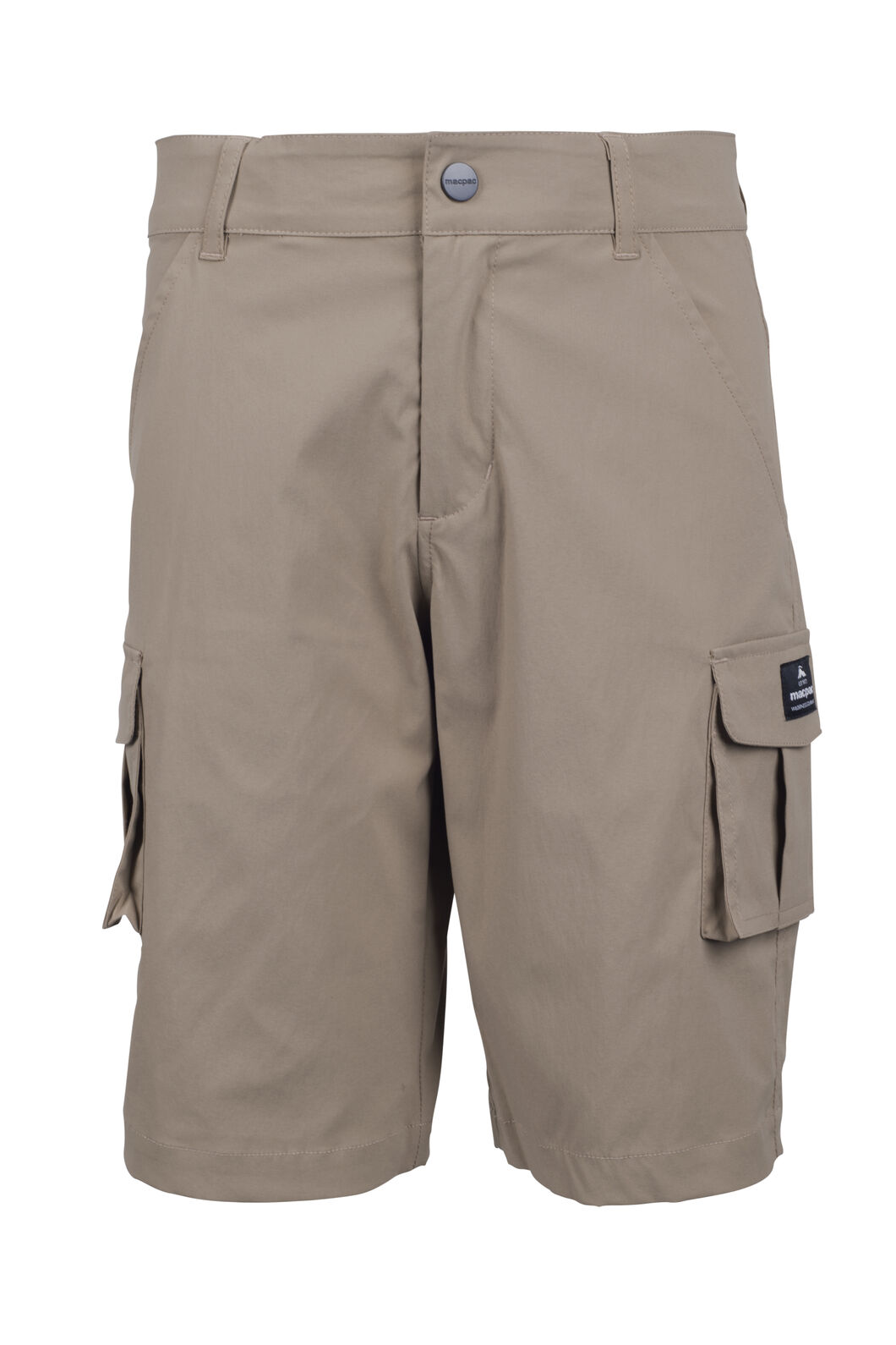 Macpac Lil Drifter Shorts - Kids', Lead Grey, hi-res