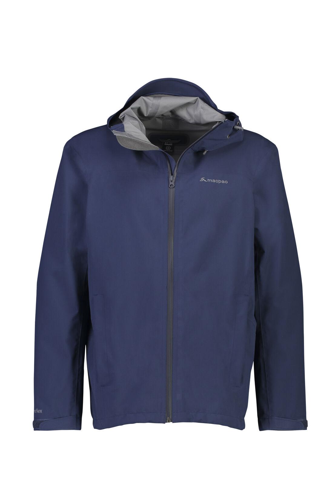 Macpac Dispatch Rain Jacket — Men's, Black Iris, hi-res