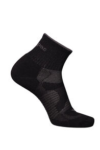 Merino Quarter Socks, Black, hi-res