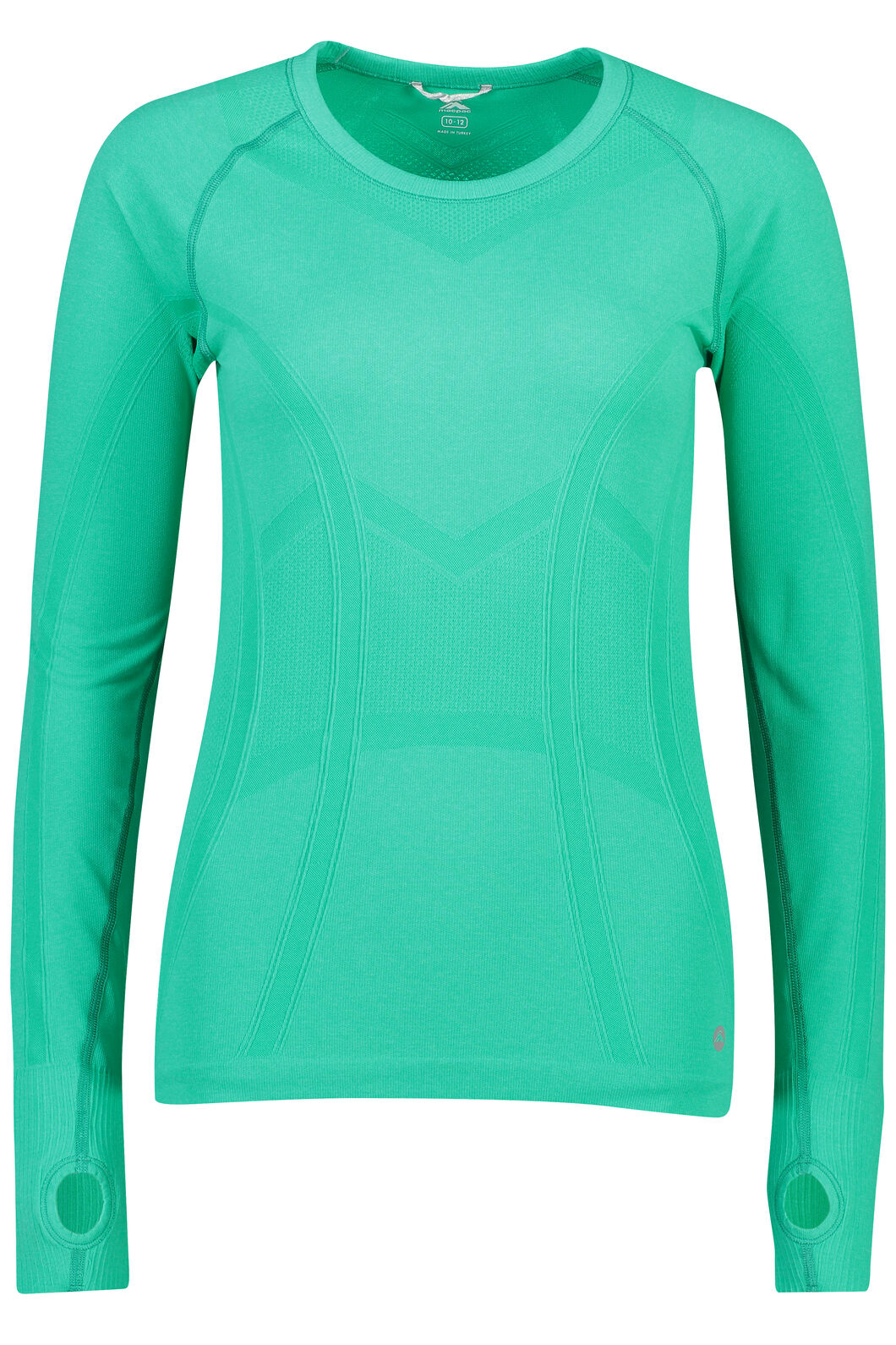 Macpac Limitless Long Sleeve Tee - Women's, Deep Green, hi-res