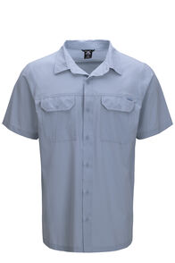 Macpac Eclipse Short Sleeve Shirt — Men's, LIGHT BLUE, hi-res