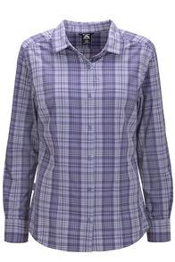Macpac Women's Eclipse Long Sleeve Shirt, Heron, hi-res