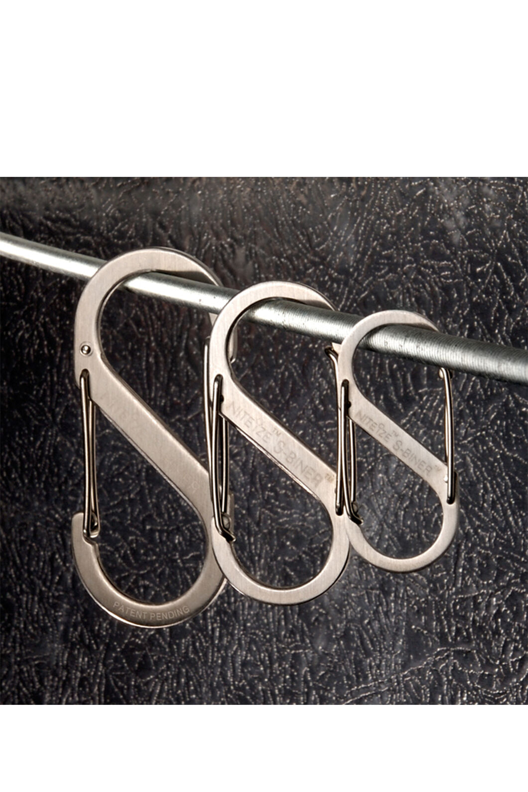 Nite Ize Stainless Steel S-Biner Carabiner 3 Pack, None, hi-res